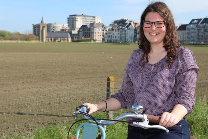 Delphine Beun is de nieuwe milieuambtenaar van de stad.©Peter MAENHOUDT