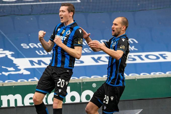 Hans Vanaken scoorde de winning goal vanop de stip.© (Foto BELGA)