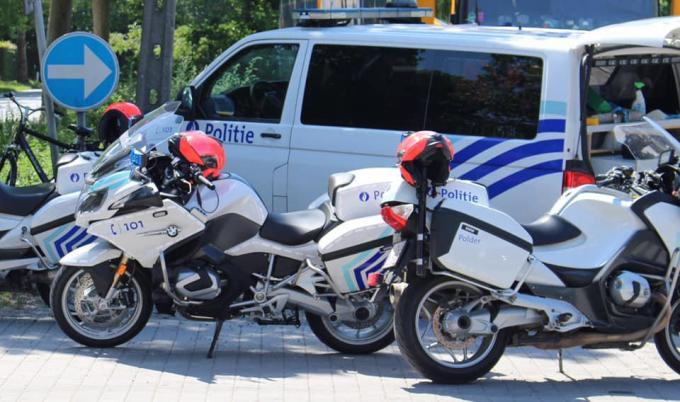 Politiezone Polder hield afgelopen weekend een grote verkeersactie.© JH