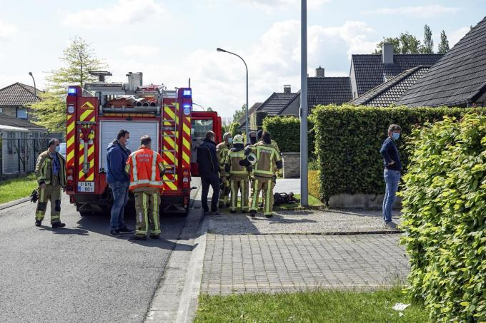 Brandweer kwam ter plaatse om alles nog eens grondig te controleren.© CLL