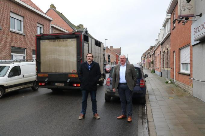 Wieland De Meyer en Sandy Evrard.© EF