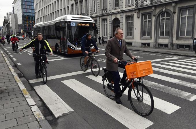 In heel Vlaanderen zullen vrijwillige straatvinkers de mobiliteit van hun straat observeren.© Belga
