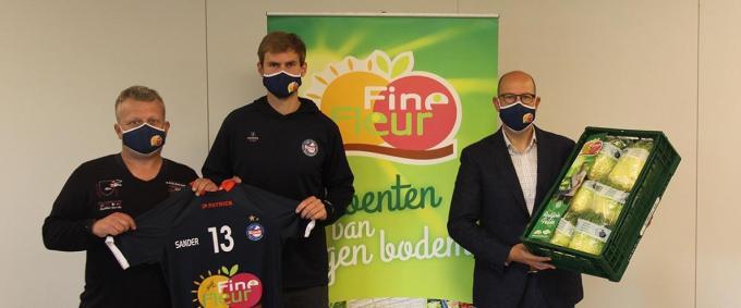 Sander Depovere is blij met zijn contractverlenging.© Knack Volley