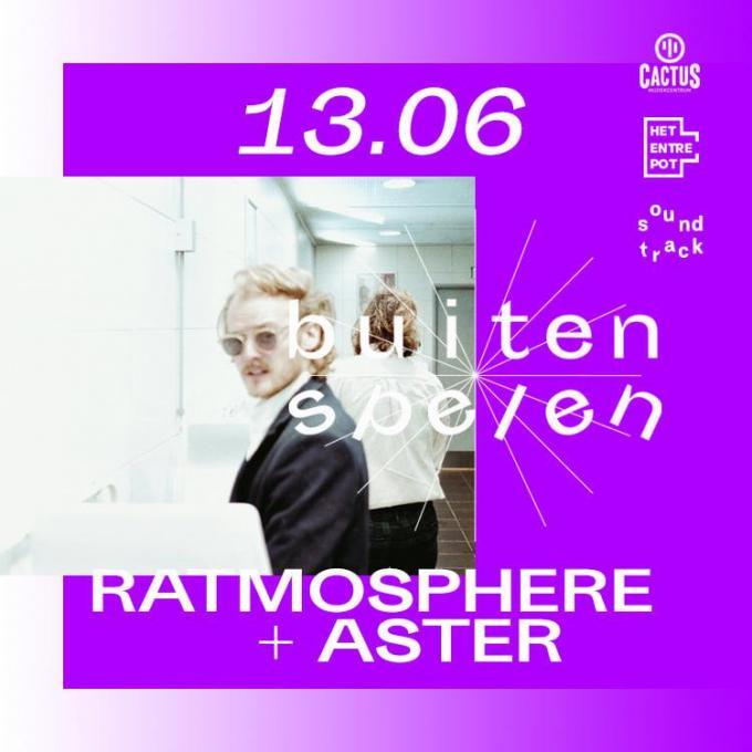 Ratmosphere mag als laatste 'Buiten Spelen'.© GF