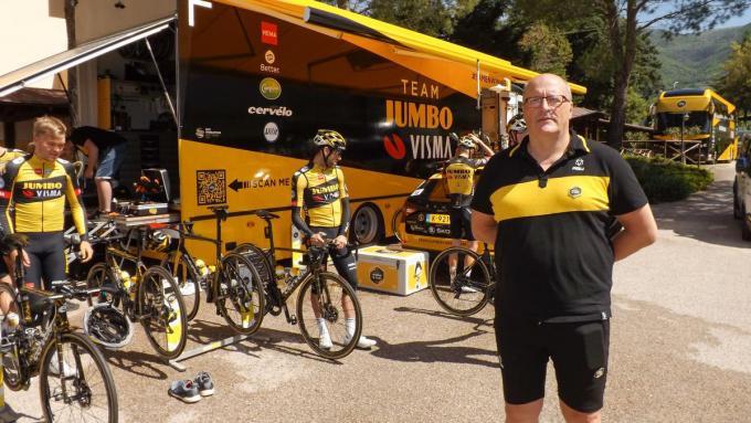 Wim Vanneste kwam per toeval bij het team van Jumbo Visma terecht. (gf)
