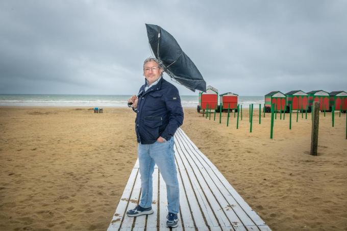 """Stéphane Buyens: """"Ik zie voorlopig weinig leegstand en weinig faillissementen. Al sluit ik een weerslag niet uit. De opkuis van een storm is dikwijls kostelijker dan de storm zelf.""""© Christophe De Muynck"""