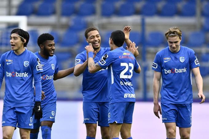 Genk won vlot van Antwerp en legt de druk opnieuw bij Club Brugge.© BELGA/JOHAN EYCKENS