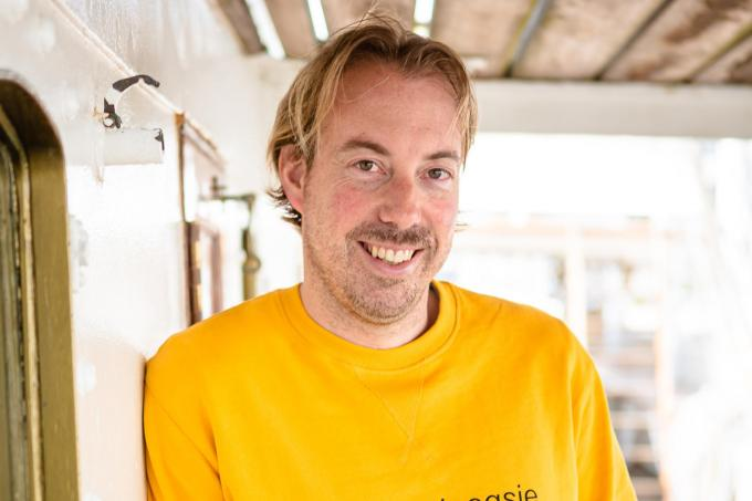"""Bram Keirsebilck: """"Als je het talent niet hebt om prof te worden, is mijn job the next best thing.""""© Davy Coghe"""
