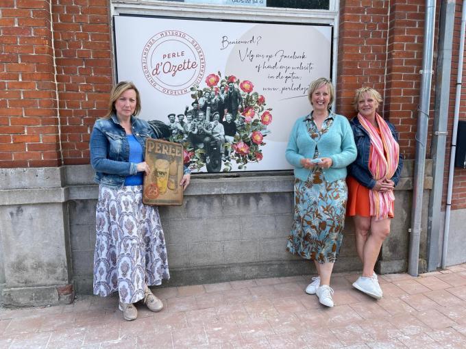 Els Vandermoere, Anne Vandermoere, Greet Vandermoere. (foto AVH)
