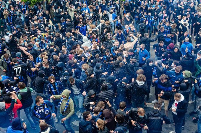 Kampioenenviering Club Brugge.© Davy Coghe
