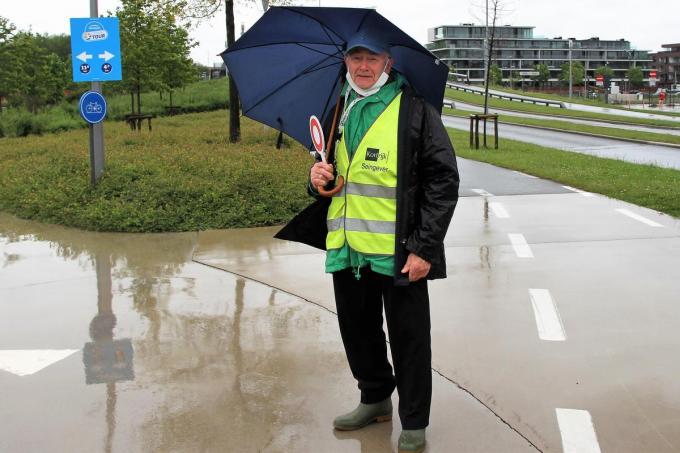 De oudste seingever Pol Verschaete.© (Foto JVGK)