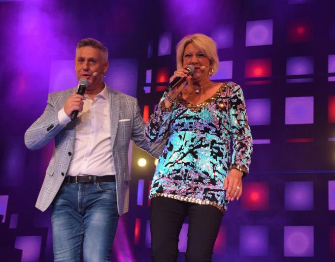 Patrick Onzia stond ook al aan de zijde van Daisy Thys op het podium van Het Witte Paard.© PADI/Jens