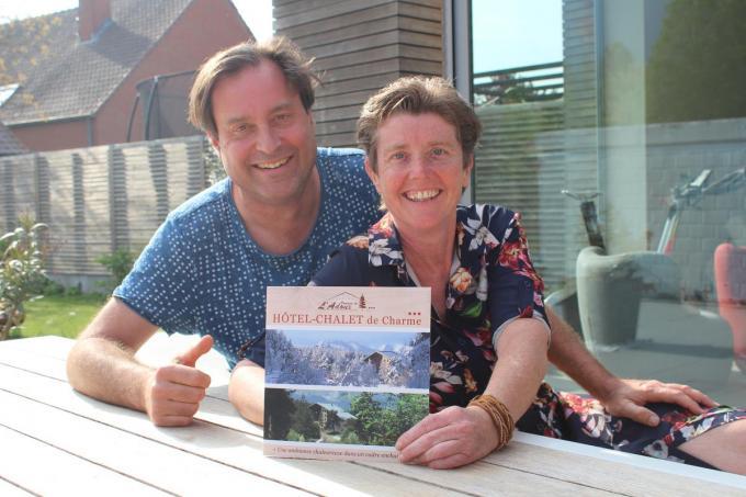 Peter Anckaert en Ilse Coghe starten een nieuw avontuur in het Franse dorpje Montclar op 1.000 kilometer van Hooglede.© (Foto JT)