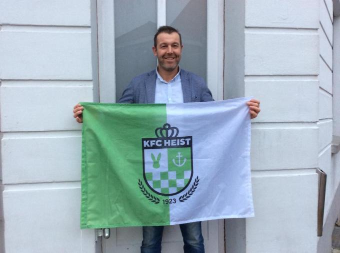 Philip Van Eeghem is de nieuwe voorzitter van KFC Heist.© (Foto JPV)