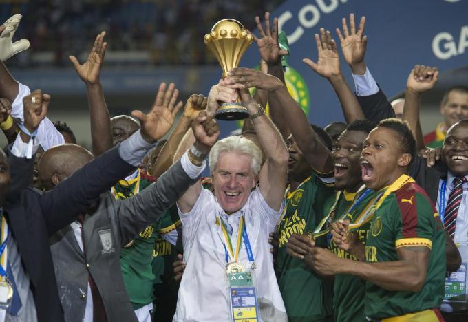 Hugo Broos verbaasde met Kameroen in 2017 vriend en vijand door de Afrika Cup te winnen.© Getty Images