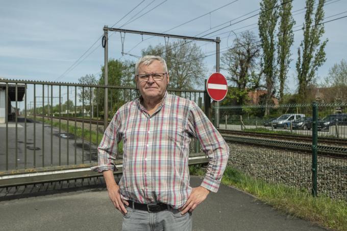 Dirk Van Hecke is de spreekbuis voor Leefbaar Rumbeke-Oekene. (foto SB)© Stefaan Beel