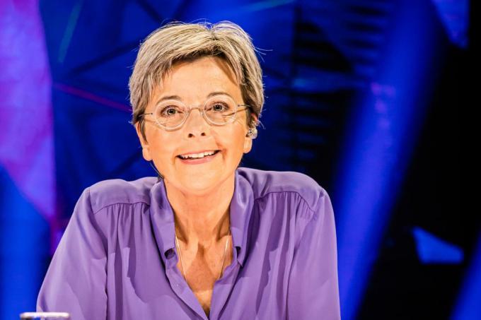 Ingeborg mag oordelen over de X-factor van de kandidaten. (foto VTM)