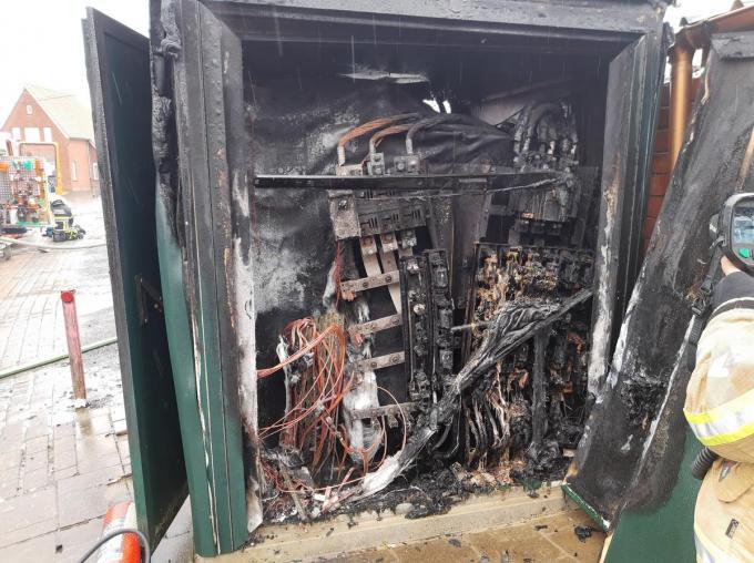 De cabine kon niet meer hersteld worden.© BF