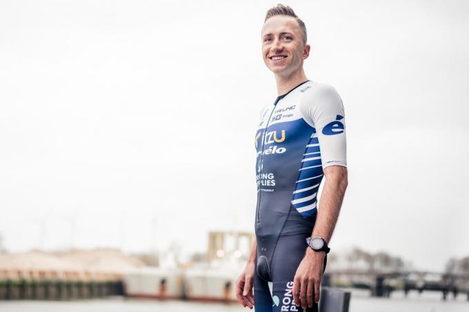 Kenneth Vandendriessche start zondag in de Challenge Sankt Pölten, begin juli kan hij eindelijk debuteren op de hele Ironman.© foto Wouter Van Vaerenbergh