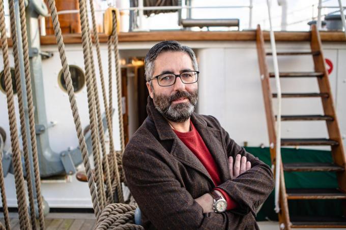 """""""Vreemd dat men erfgoedkaart trekt, maar daar erfgoed voor afbreekt"""", vindt Dement-voorzitter Guy Servaes.© Davy Coghe"""