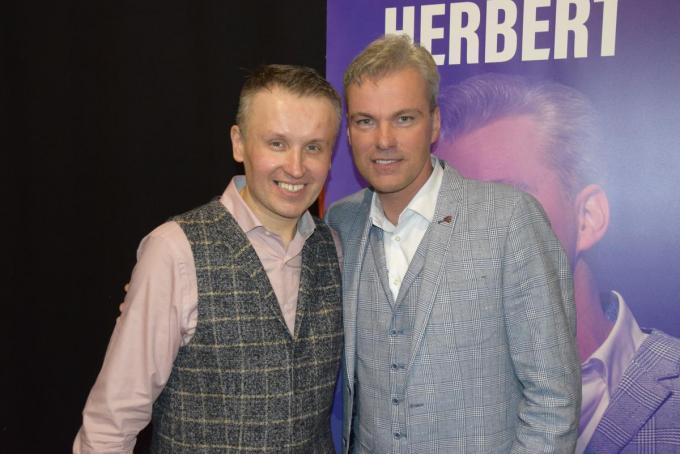 David Callebert en Herbert Verhaeghe.© PADI/Jens
