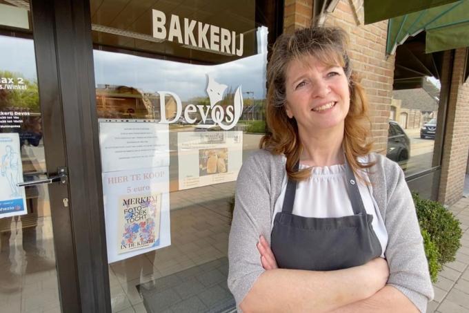 """Nancy Van Buyten: """"Mensen hier zijn verdraagzamer dan Antwerpenaars. Hier moet je geen 50 soorten brood bakken.""""© KVdm"""