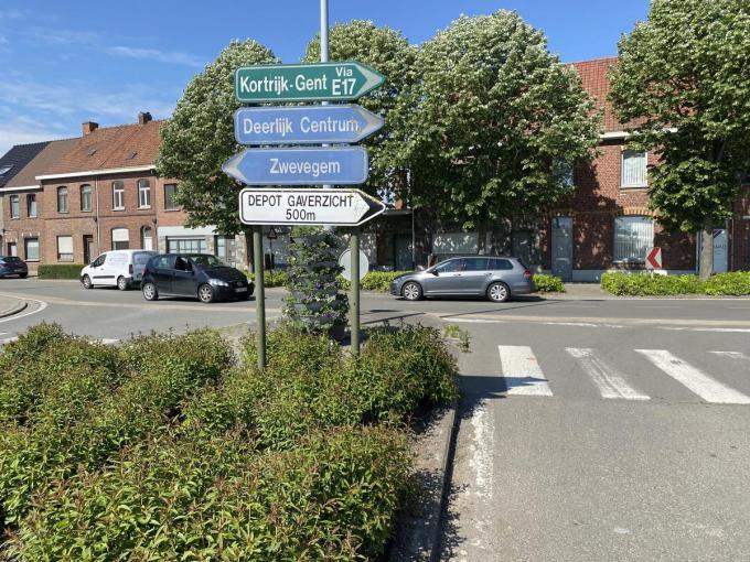 Ter hoogte van de Tapuitstraat zal er tijdelijk verkeershinder zijn in de Stationsstraat.© (Foto DRD)