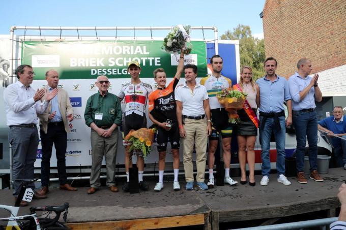 Twee jaar geleden won Arjen Livyns de Memorial Briek Schotte.© Bart