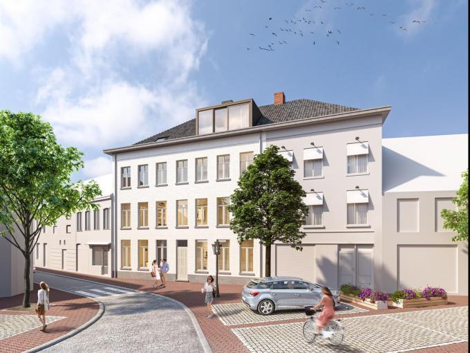 De nieuwbouw aan het Sint-Maartensplein moet er zo uitzien.© ERA