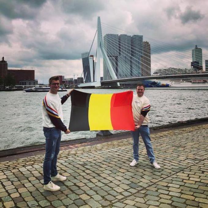 Sven Garreyn en Arne Six zijn fervente Eurosong-liefhebbers.© gf