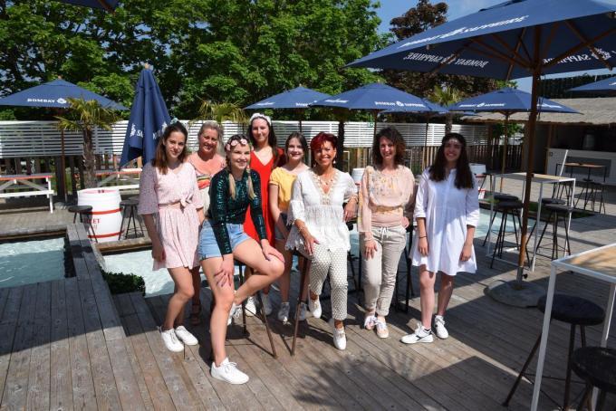 Suzy kon rekenen op Dansschool Nele uit Oostrozebeke.© PADI/Jens