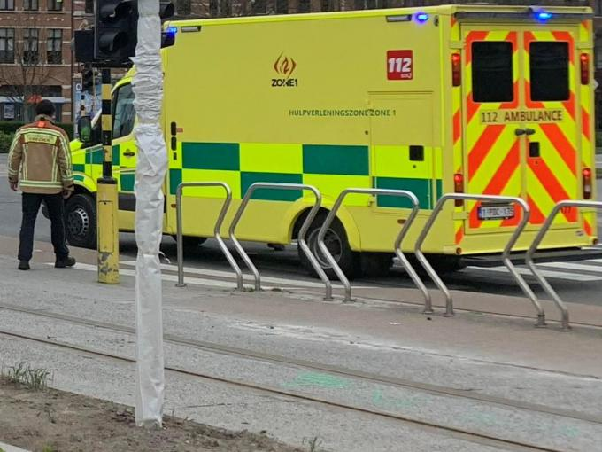 De hulpsdiensten kwamen meteen ter plaatse.© JR