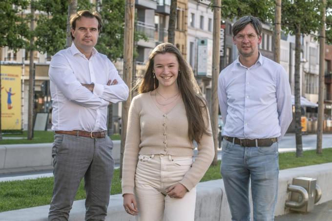 We zien de genomineerden Alexander Verduyn, Lana Verkest en Henk De Gheldere. (foto SB)©STEFAAN BEEL Stefaan Beel