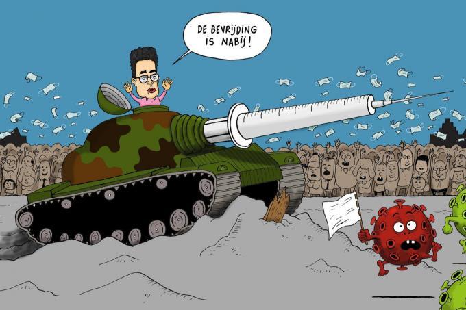 © Cartoon Bart Vantieghem