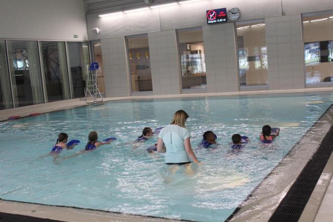 De zwemlessen waren in sneltempo volzet. (foto ACK)©type=