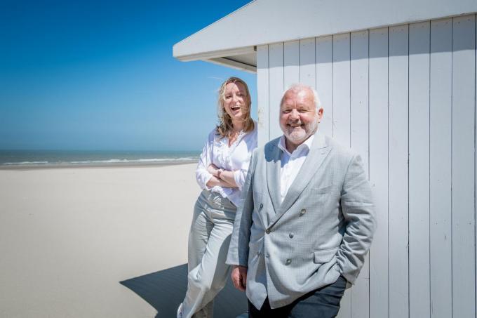Melissa Depraetere en Jean-Marie Dedecker.© Christophe De Muynck