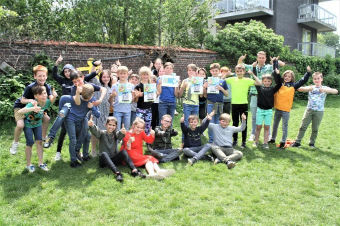Matthias Allegaert en zijn leerlingen nodigen iedereen uit voor deze muzische tocht.© foto WD