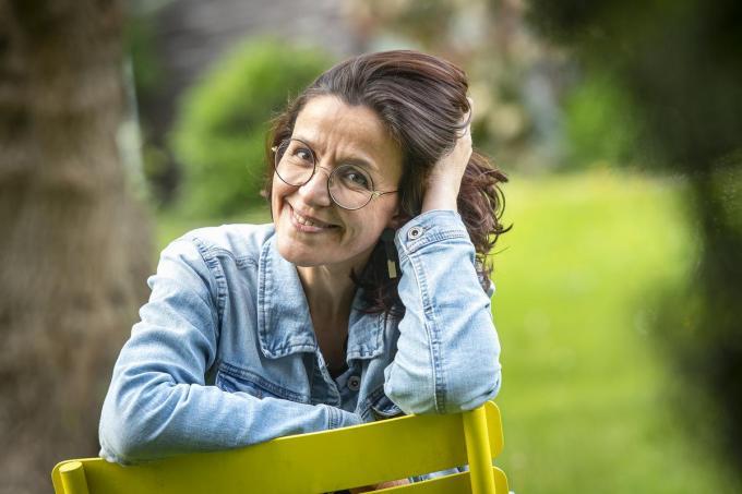 Stéphanie De Maesschalck verhuist van Poperinge naar hartje Gent. (foto Joke Couvreur)