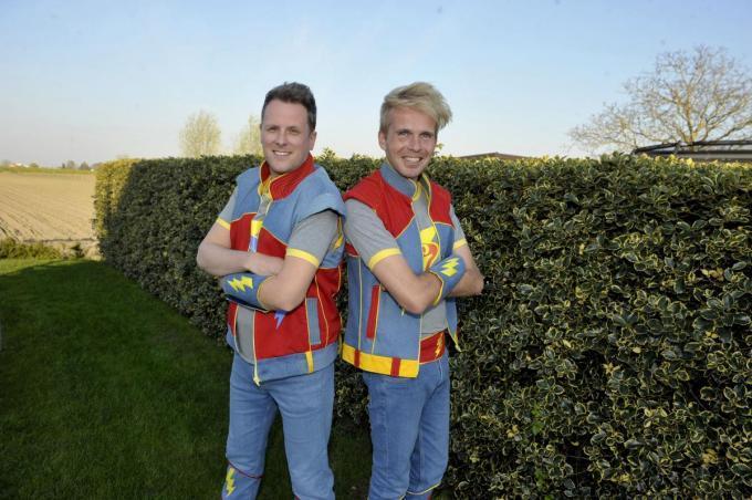 Jens Declerck (links) en Pieterjan Beheydt van BlitZ.© PADI