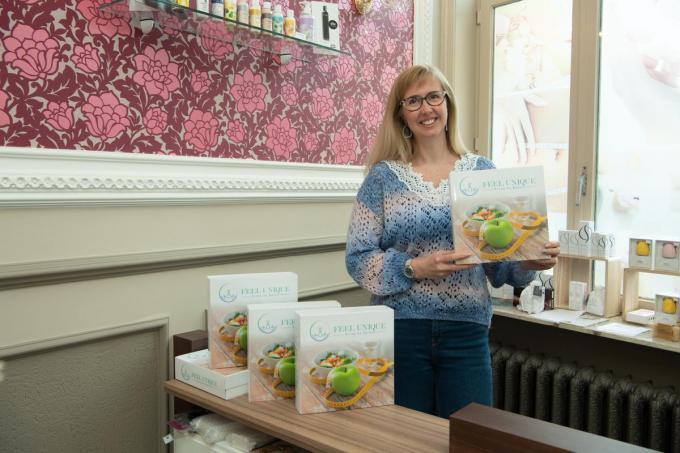 """Valerie Vandeverre: """"Ik zou mijn product heel graag op de markt brengen.""""© (Foto FM)"""