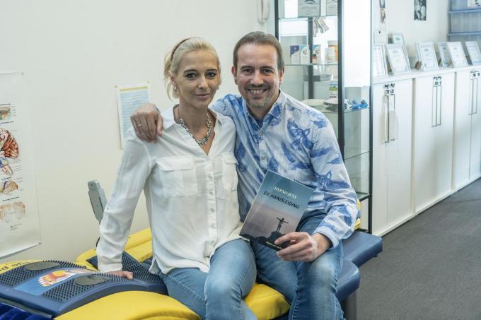 'Hypno Jens' D'haene en zijn vriendin Angelique Tytgat.©STEFAAN BEEL Stefaan Beel