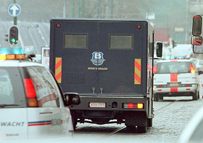 Reden van de herstructurering is de krimpende markt van geldtransporten.© BELGAIMAGE