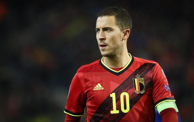 Ook achter de naam van Eden Hazard staan momenteel nog heel wat vraagtekens een week voor de start van het EK.© BELGA