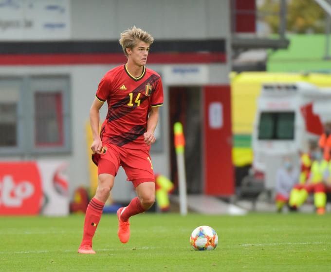 Charles De Ketelaere van Club Brugge begon in de basis.© BELGA