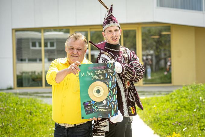 Peter Bervoets en Jens Haccour.©JOKE COUVREUR