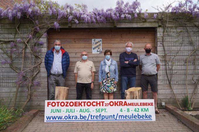 De Okra-leden achter deze zoektocht: Danny Tuytens, José Debackere, Myriam Sabbe, Frank Noël en Eric Neirinck.© LUC