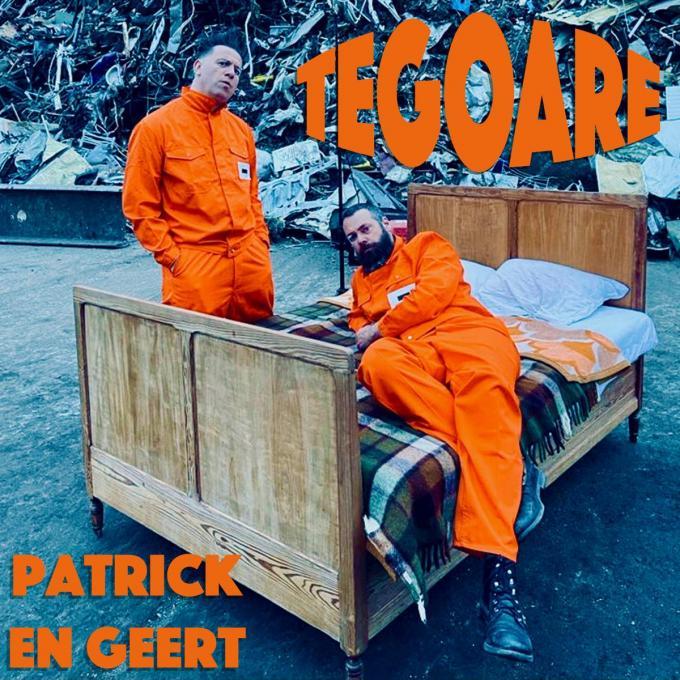 Patrick en Geert mikken op de dansbenen met hun nieuwe single 'Tegoare'.© foto TOGH
