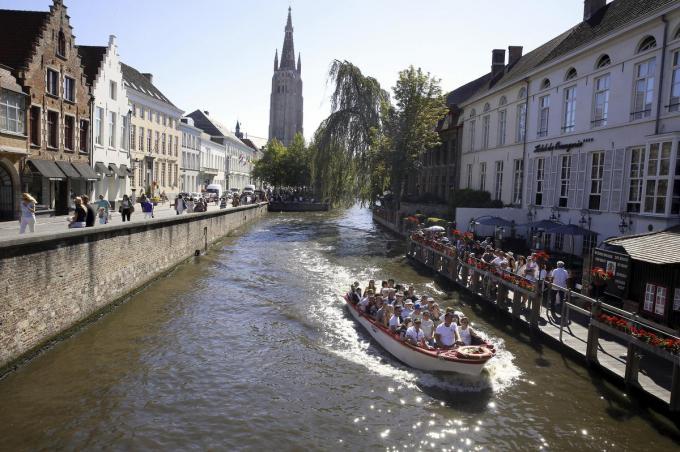 De campagne moet ook weer toeristen naar Brugge lokken.© BELGA