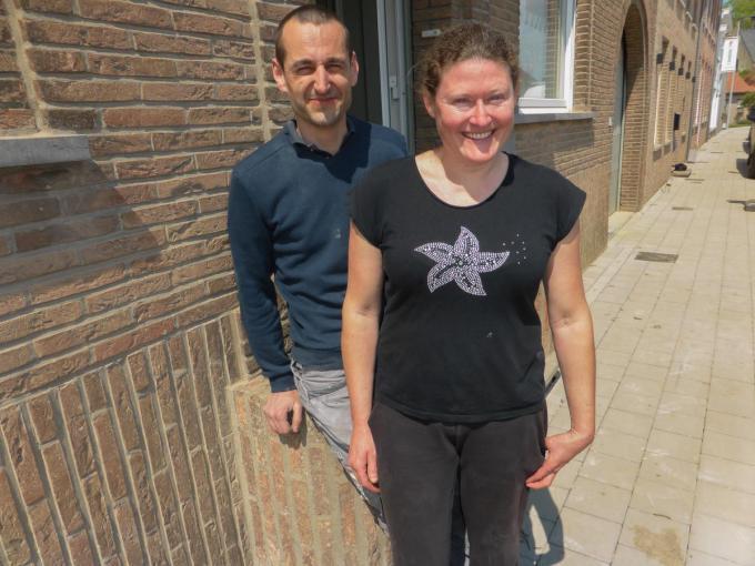 David Dennekin en Valerie Sohier zien hun verhuis naar Haringe in ieder geval zitten.© foto MD