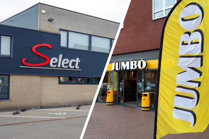 De Select in Lauwe zal vanaf eind juli een Jumbo-filiaal zijn.© foto CL